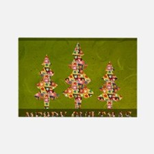 MERRYQUILTMAS Rectangle Magnet
