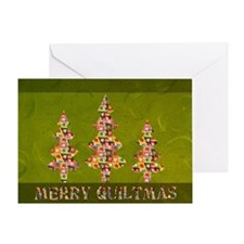 MERRYQUILTMAS Greeting Card