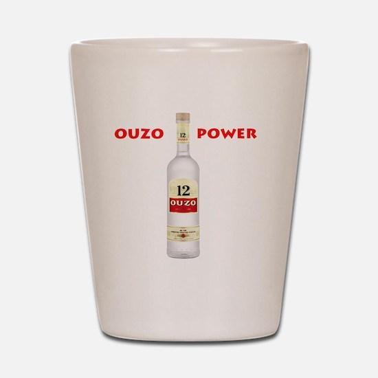 ouzo_power Shot Glass