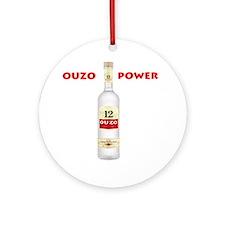 ouzo_power Round Ornament