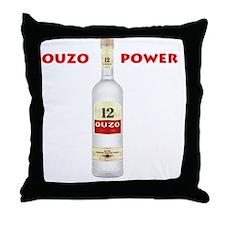 ouzo_power Throw Pillow