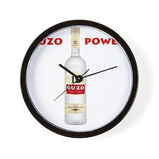 ouzo_power Wall Clock