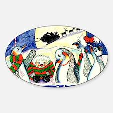 SantaStopCP Sticker (Oval)