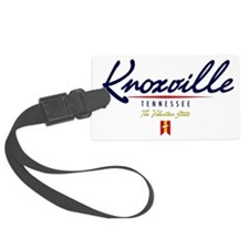Knoxville Script W Luggage Tag