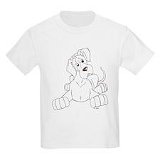 Ntilt pup Kids T-Shirt