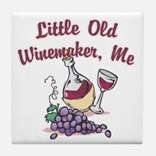 Little Old Winemaker Tile Coaster