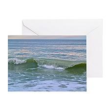 Myrtle Beach Wave Greeting Card