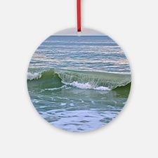 Myrtle Beach Wave Round Ornament