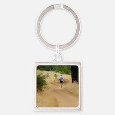 runner16x20 Square Keychain