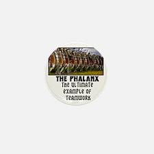 Phalanx Tee Mini Button