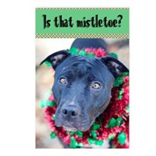 is that mistletoe Postcards (Package of 8)