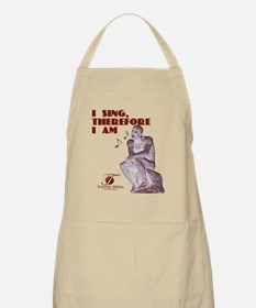 i-sing-therefore-i-am copy Apron