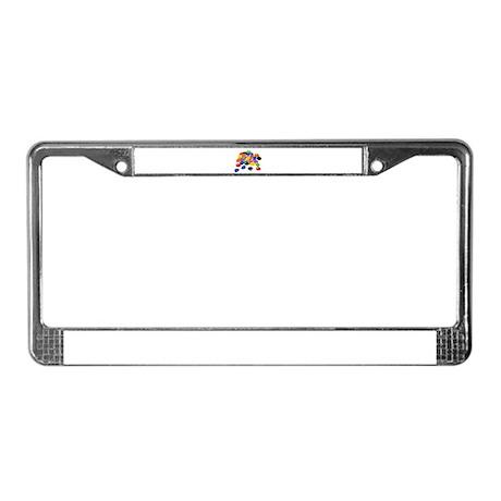 Jelly Beans License Plate Frame