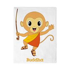 Buddha Monkey™ Twin Duvet