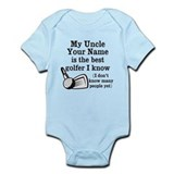 Funny uncle baby Bodysuits