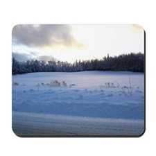 ICY WINTER DAY1-lg framed print Mousepad