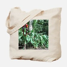 Scarlet Macaw photo -Panama Canal Cruise Tote Bag