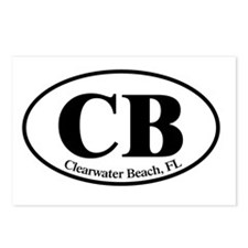 CB.Clearwater Beach.Dutch Postcards (Package of 8)