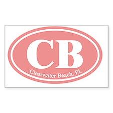 CB.Clearwater Beach.Dutch.pink Decal