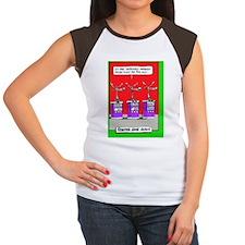 1193 CTCXSL REINDEER GA Women's Cap Sleeve T-Shirt