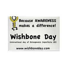 oi wishbone day Rectangle Magnet