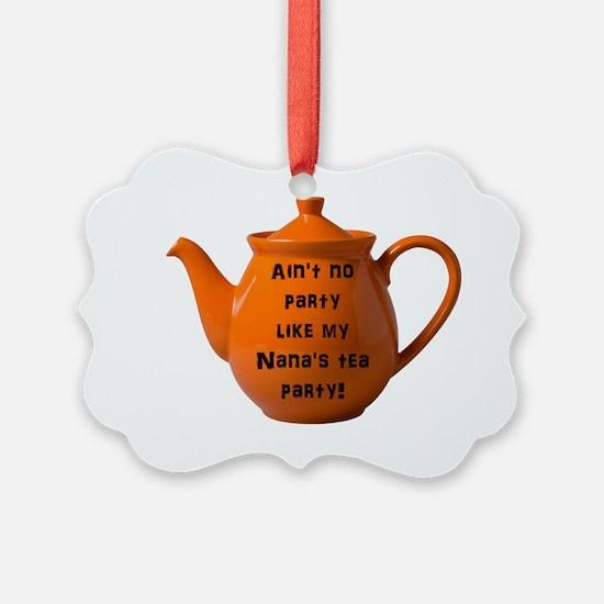 Tea Party Ornament