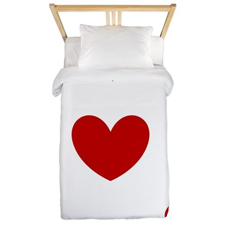 card ace of hearts Twin Duvet