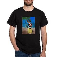 Calico Hula Queen T-Shirt