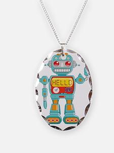 Hello Robot Necklace