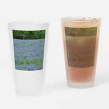 Bluebonnets Drinking Glass