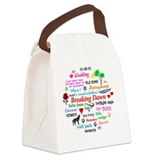 Breaking Dawn Btn Canvas Lunch Bag