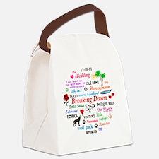 Breaking Dawn Btn Canvas Lunch Bag