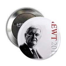 "Newt For President onBlack 2.25"" Button"