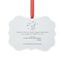 PDI Holiday Card PDI Greeting Ornament
