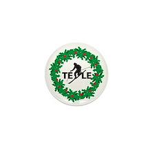 tele wreath Mini Button