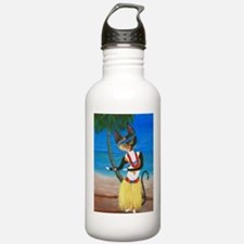 Calico Hula Queen Water Bottle