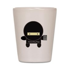accounting-ninja Shot Glass