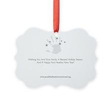 PDI Holiday Card General Greeting Ornament