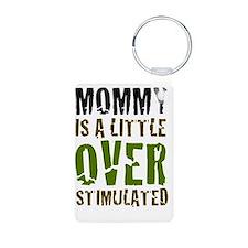 MommyIsALittleOverstimulat Keychains