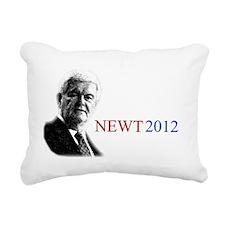 Newt YardSign Rectangular Canvas Pillow