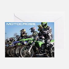 MotoCross Calendar Cover Greeting Card