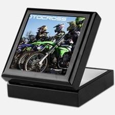 MotoCross Calendar Cover Keepsake Box