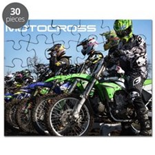 MotoCross Calendar Cover Puzzle