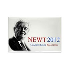 Newt YardSign(logLine) Rectangle Magnet