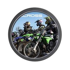 MotoCross Calendar Cover Wall Clock