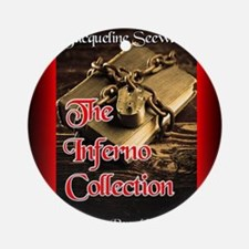 The Inferno Collection mouse pad Round Ornament