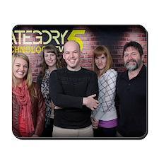 The Category5 TV Season 5 Crew Mousepad