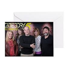 The Category5 TV Season 5 Crew Greeting Card