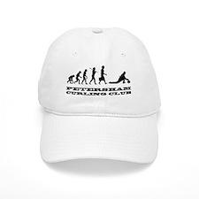 evolution of curling with large logo Hat
