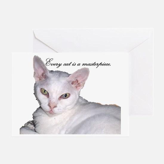 Cat-Bag-5 Greeting Card